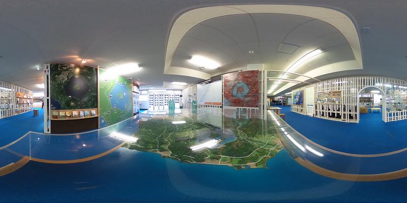 洞爺湖地形模型