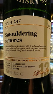 SMWS 4.247 - Smouldering s'mores