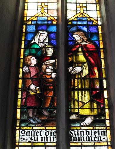 Fenster 19 JH, Ausschnitt