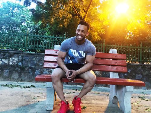 Mission Delhi – Akash Kanaujia, Outside Lodhi Gardens