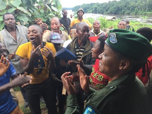 Village of Obenge welcomes new head warden at Bangaliwa