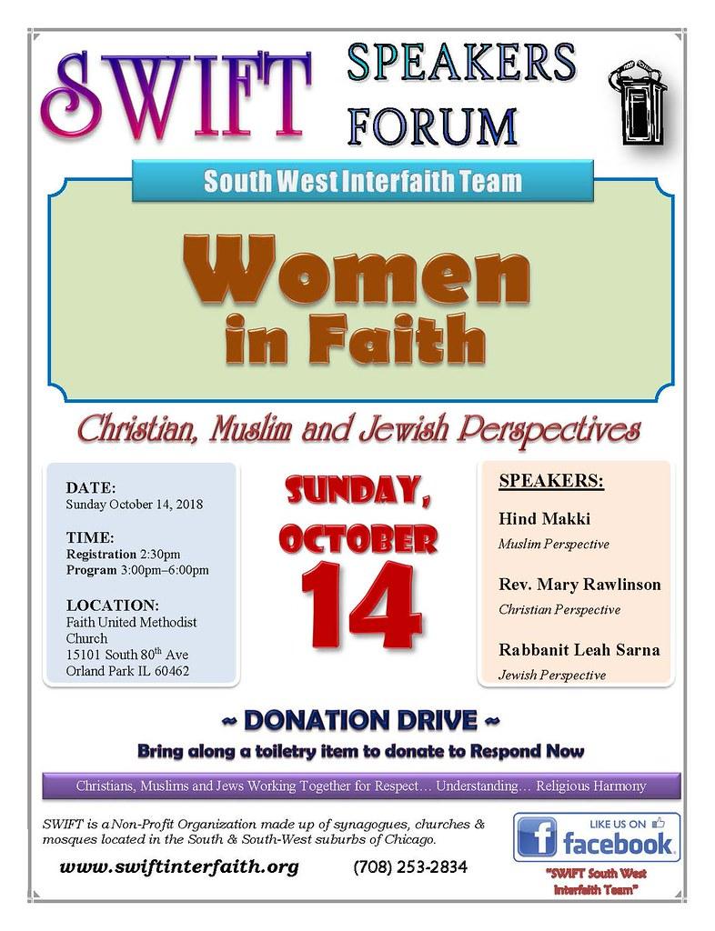 SWIFT Speakers Forum Women 10142018