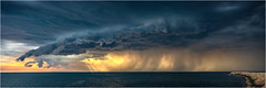 Storm front over Coogee
