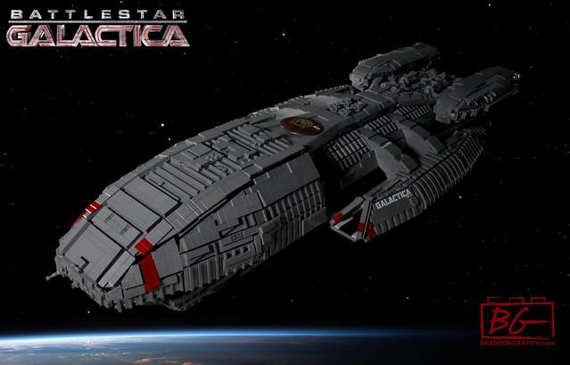 LEGO Battlestar Galactica BSG-75