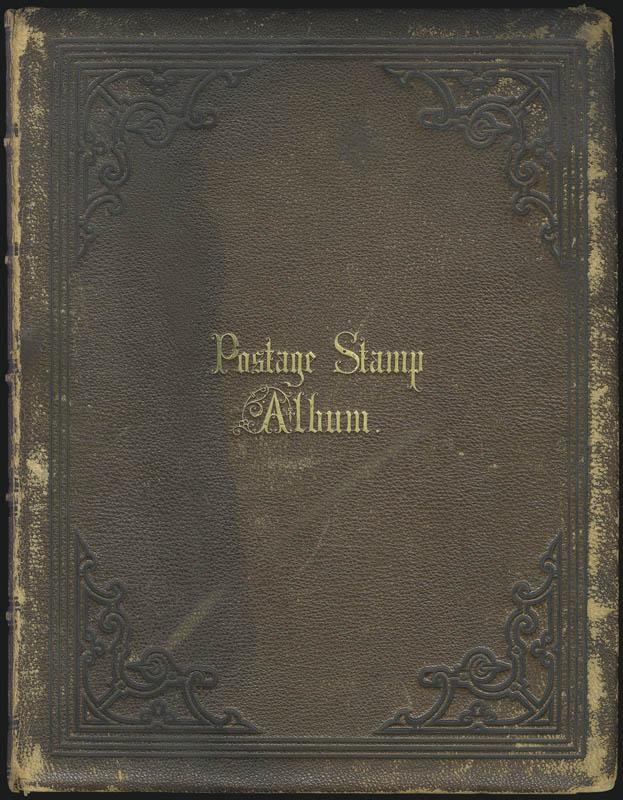 Appleton stamp album, 1863