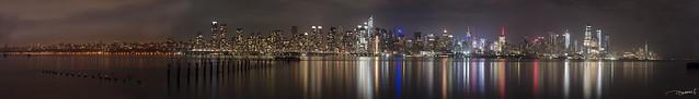 Panorámica de Nueva York / New York City panoramic