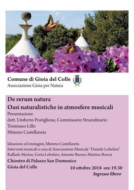 oasi naturale e musica