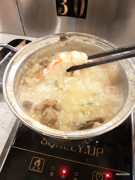 Soybean hot pot