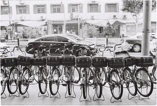 Shanghai old bicycles - 2018