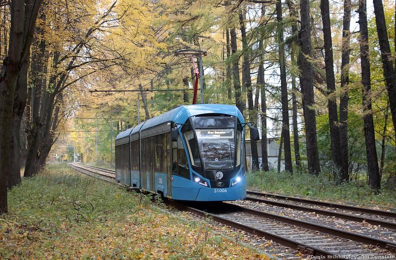 Трамвай 71-931М «Витязь-М» №31006, Измайловский проспект.