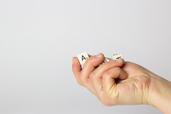 Hand With Talent Blocks_