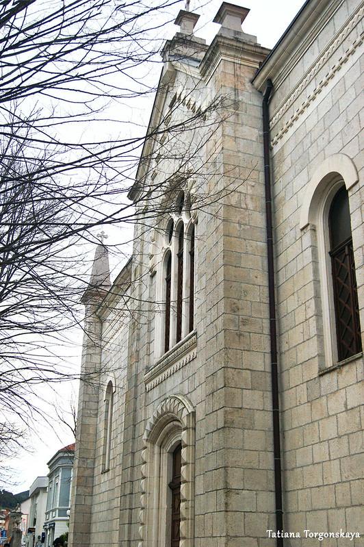 Фрагмент фасада собора Св. Преображения