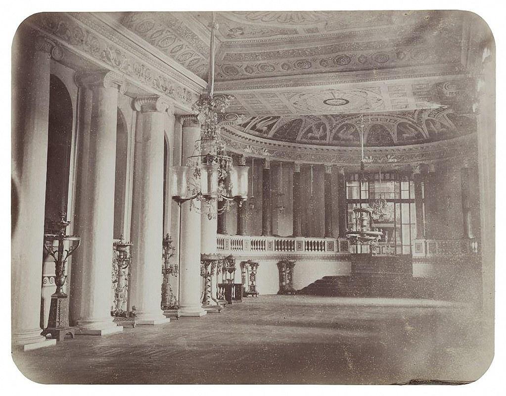 Останкинский дворец. Театр. 1868-1870