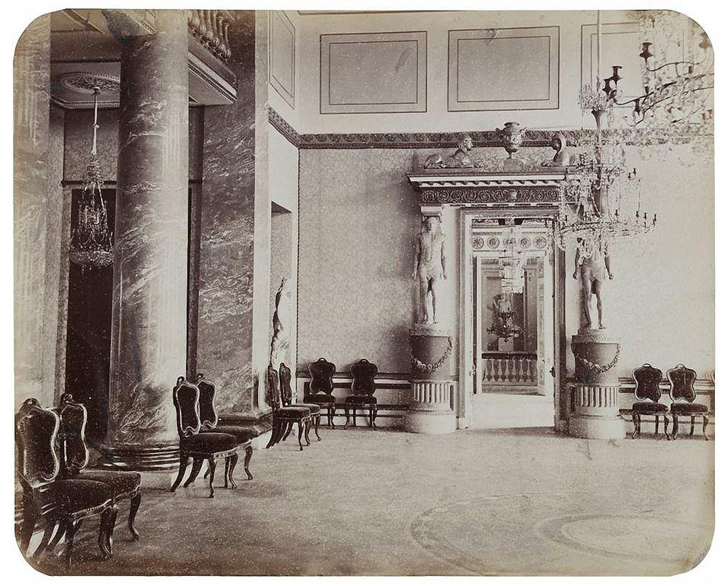 Останкинский дворец. Голубой зал. 1868-1870