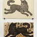 """""""THE WOLF"""" and it's woodblock"""
