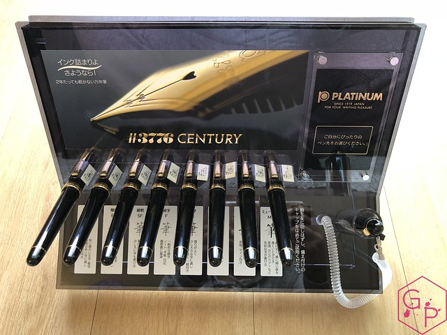 Platinum #3776 Century Fountain Pen Nib Set UEF, EF, F, M, B, C, Music 2