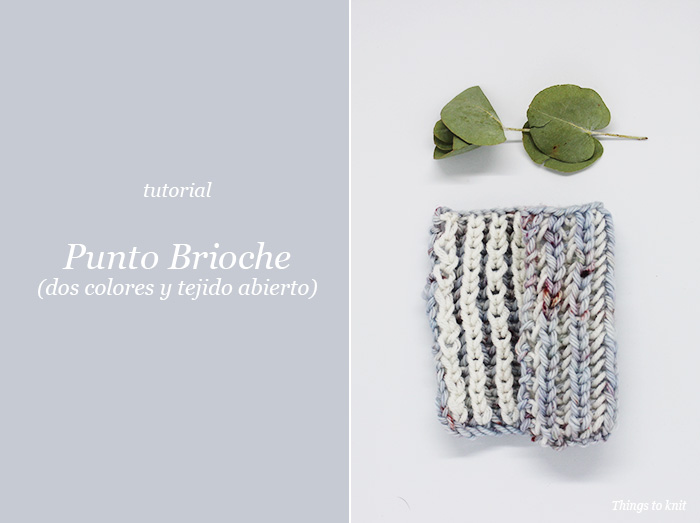 Tutorial: Punto Brioche con dos colores » Things to Knit