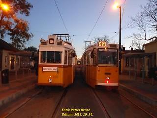 Ganz UV 3888 + Ganz CsMG 1437 Budapest-Kelenföld, 2018. 10. 24.