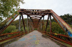 Abandoned, Camp Nelson Bridge in HDR