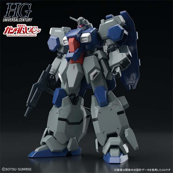 HGUC 1/144《機動戰士鋼彈UC》FD-03 古斯塔夫・卡爾(Gundam Unicorn ver.)グスタフ・カール(ユニコーンVer.)