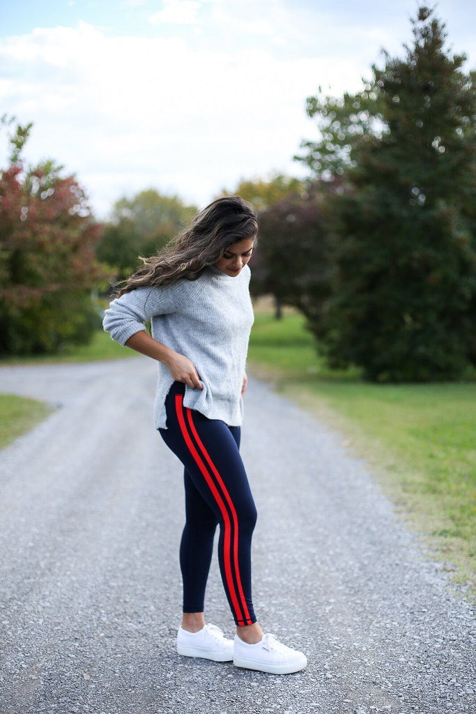 Priya the Blog, Nashville fashion blog, Nashville fashion blogger, Nashville style blog, Nashville style blogger, athleisure, platform Supergas, how to wear platform Supergas, how to style athletic tights, how to style running tights