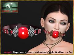 Bliensen - Angel - gag - red