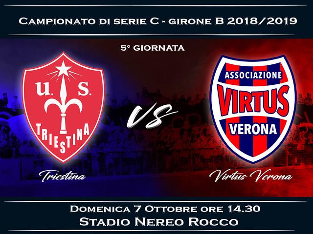 Triestina - Virtus Verona 2-0