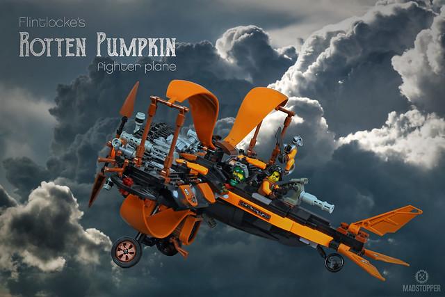 """Flintlocke's Fighter Plane """"Rotten Pumpkin"""""""