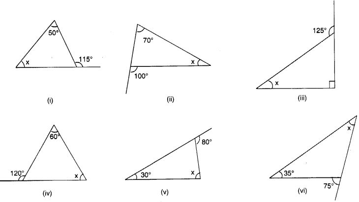 NCERT Solutions for Class 7 Maths Chapter 6 The Triangle and