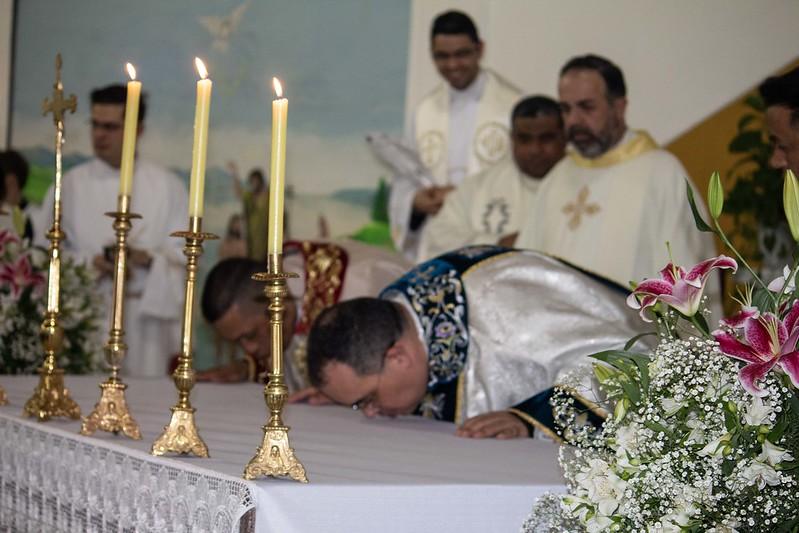 Posse de Pe. Fábio Lima na Paróquia Santo Antônio Maria Claret