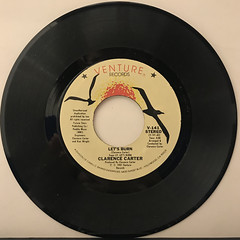 CLARENCE CARTER:LET'S BURN(RECORD SIDE-A)
