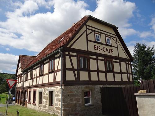 Letzte Nacht habe ich geträumt vom Eis Cafe in Sachsen 00635