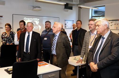 Mašīnzinību, transporta un aeronautikas fakultātes «Mitutoyo» metroloģijas laboratorijas atklāšana
