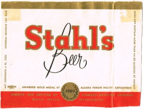 Stahls-Beer-Labels-Pioneer-Brewing-Company