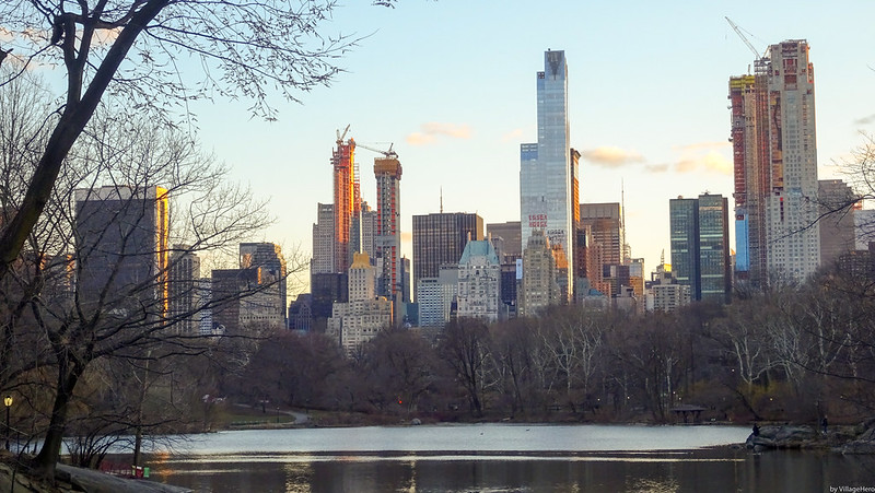 Central Park - The Lake panorama (New York)