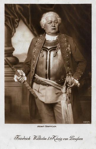 Albert Steinrück in Fridericus Rex (1921-1922)