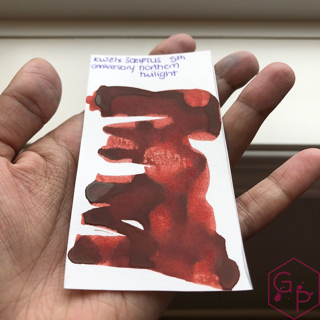 Scriptus Toronto Writing Show 2018 Inks - Maple Red & Northern Twilight! 2