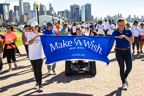 2018 Walk For Wishes at Liberty State Park