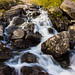 Waterfall at Cwm Idwal, Snowdonia, North Wales