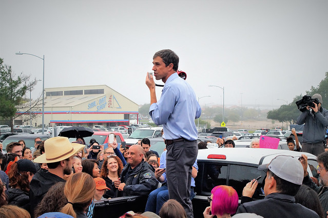 Early Voting with Beto O'Rourke.