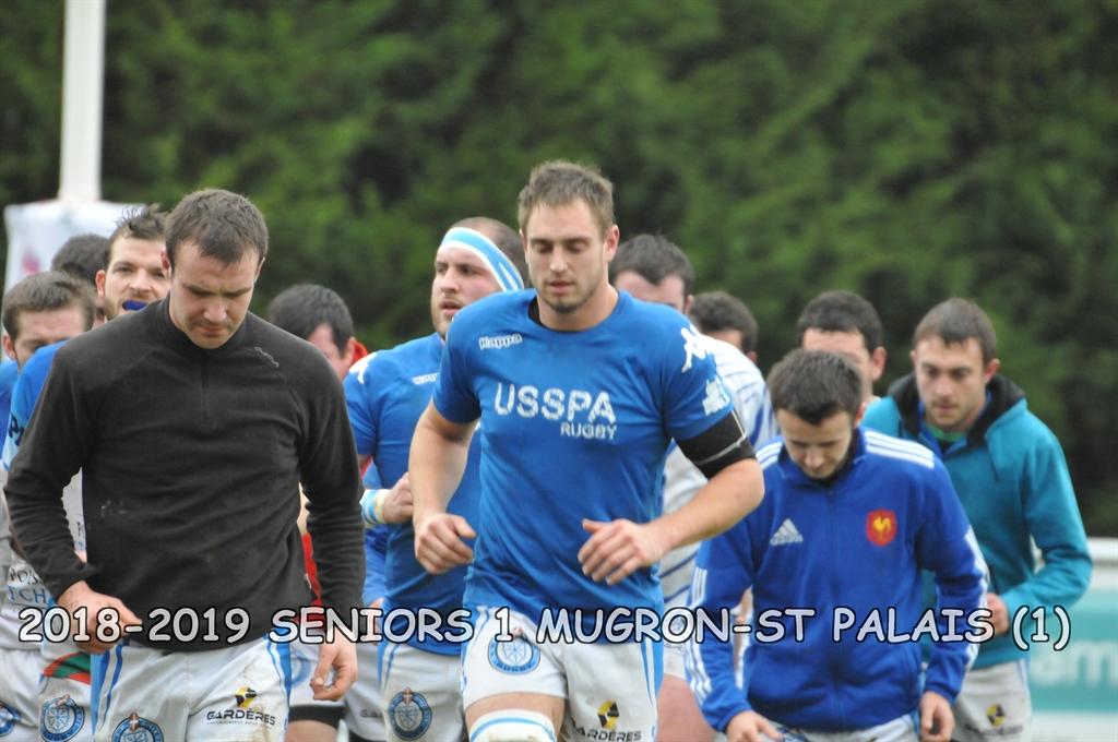 2018-2019 SENIORS 1 MUGRON-ST PALAIS