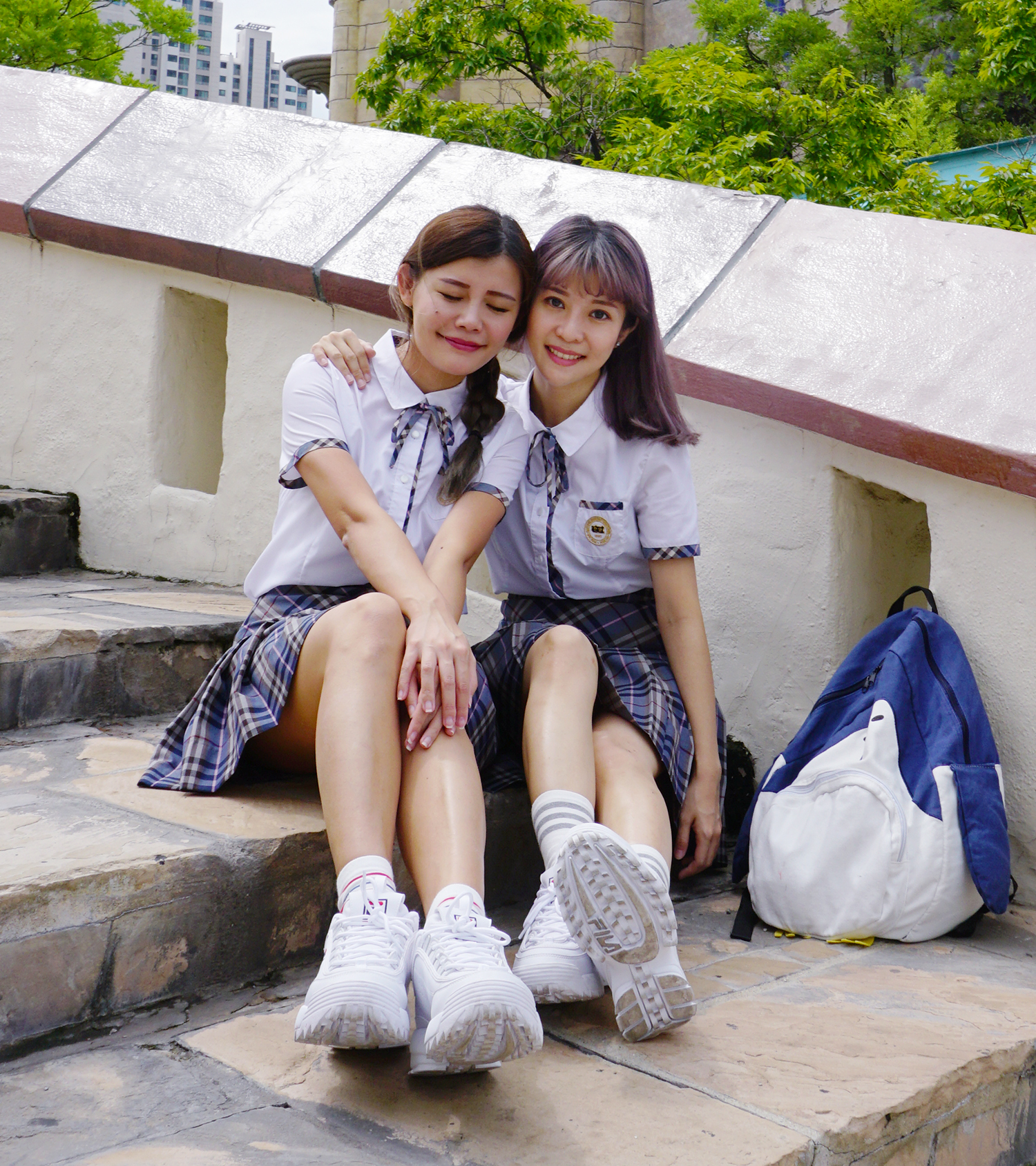 Korean_School_Uniform_Rental_Ehwa_Gyobok_Seoul_Korea_13