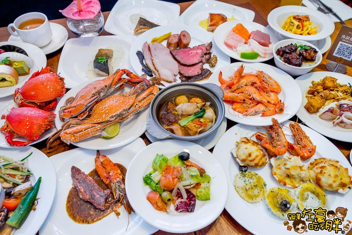 國賓 i river愛河牛排海鮮自助餐廳2018-2