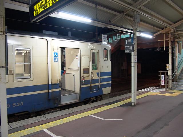 キハ40-533 (五所川原駅)