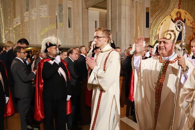 Msza św. w 40. rocznicę pontyfikatu Jana Pawła II w Sanktuarium JPII w Krakowie, 16.10.2018