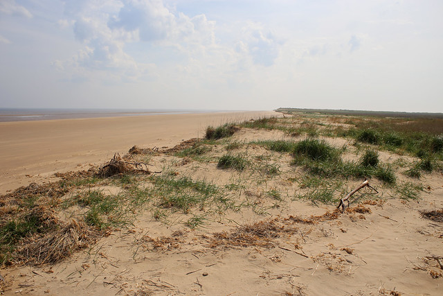 The beach at Bramble Hills, Skegness