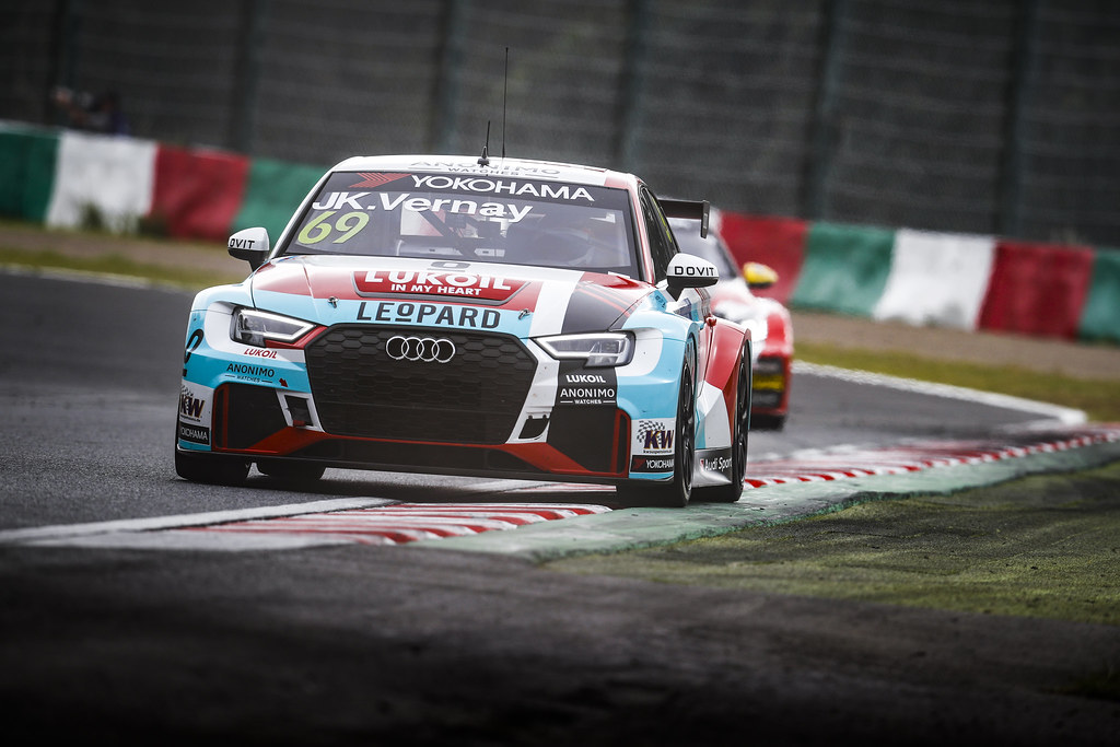 69 VERNAY Jean-Karl, (fra), Audi RS3 LMS TCR team Audi Sport Leopard Lukoil, action during the 2018 FIA WTCR World Touring Car cup of Japan, at Suzuka from october 26 to 28 - Photo Clement Marin / DPPI