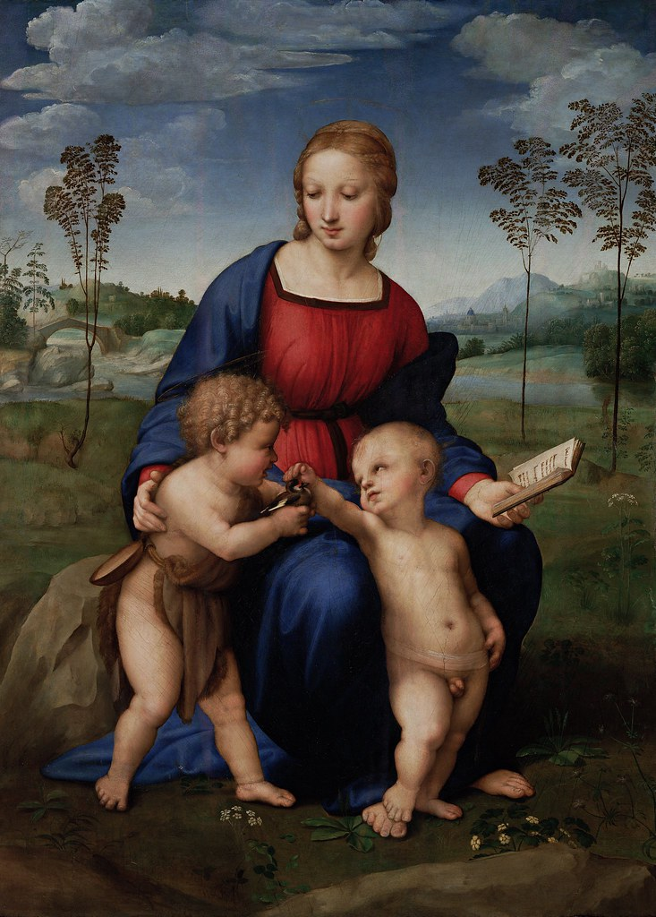 Raffaello Sanzio - Madonna del Cardellino (c.1505)
