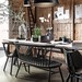 Home Decorating DIY Projects: Dining area in black and wood in a barn photographed by Paulina Arcklin