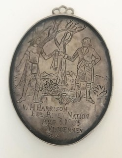 1803 Harrison Silver Indian Peace Medal obverse